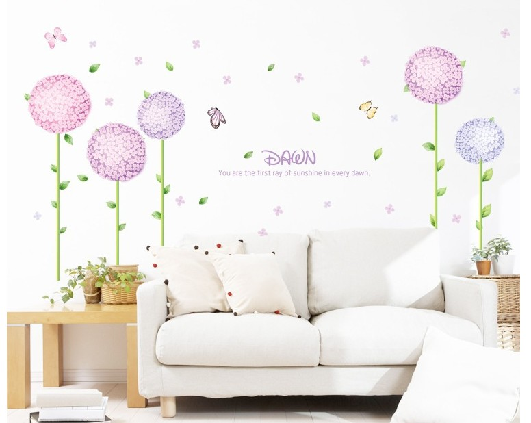 flor de mariposa decoracin etiqueta de la pared dormitorio cocina bao bricolaje decoracin de papel de