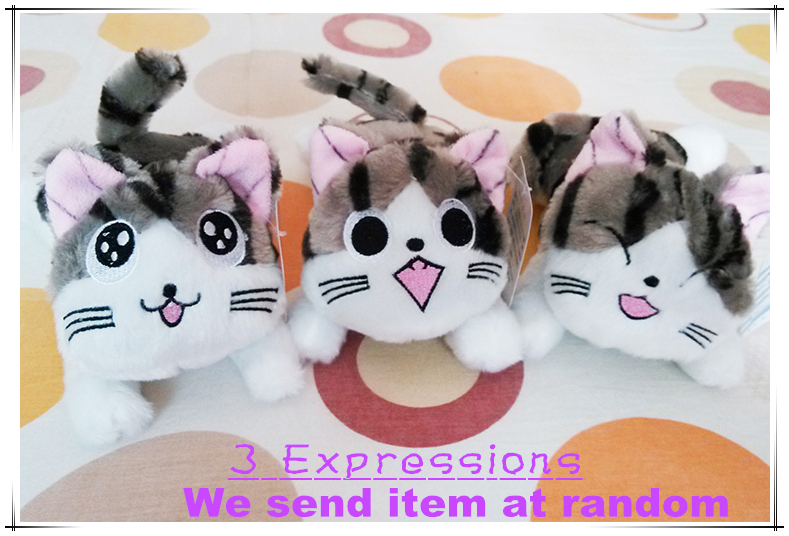 1 PC New Unisex Cute Plush Toy 20CM Chi's Sweet Cat Soft Stuffed Animal Chi's Sweet Home Cuddly Doll Plush Toy Kids/Baby Gifts(China (Mainland))