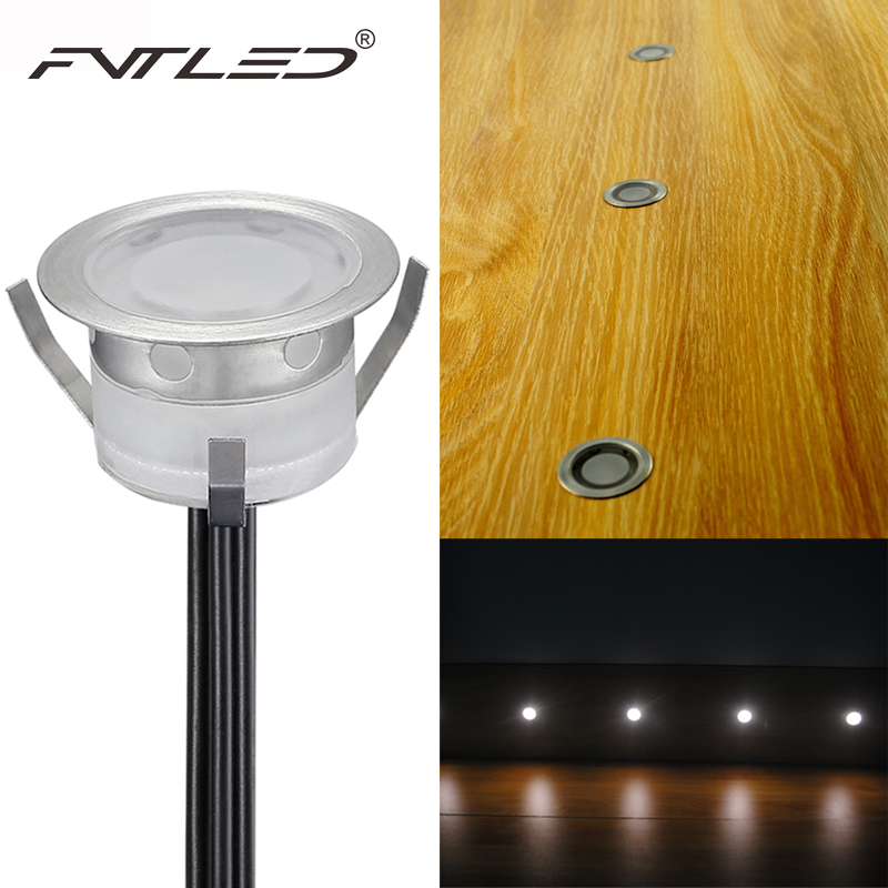 fvtled 12v led deck lighting kit stainless steel waterproof outdoor