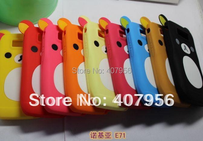 Silicon Nokia E71 Case For Nokia E71,with