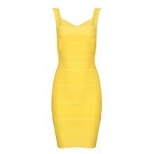 Летние красные, черные, желтые оболочка платье с открытой спиной, пикантный Bodycon бинты мини платья для вечеринок Клубная одежда платья для ж...(China)