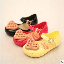 kids shoes boys girls waffle Han edition summer cool jelly shoes sandals foreign trade children's shoes of the girls 4374