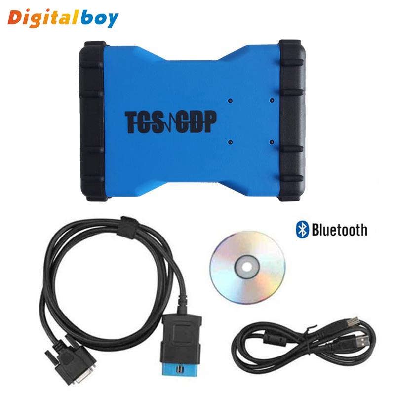 Brand Newest Bluetooth 2014 R2 DS 150E DS150 TCS CDP Pro CDP Bluetooth Code Read CDP Pro Plus Multi-language for Cars And Trucks<br><br>Aliexpress