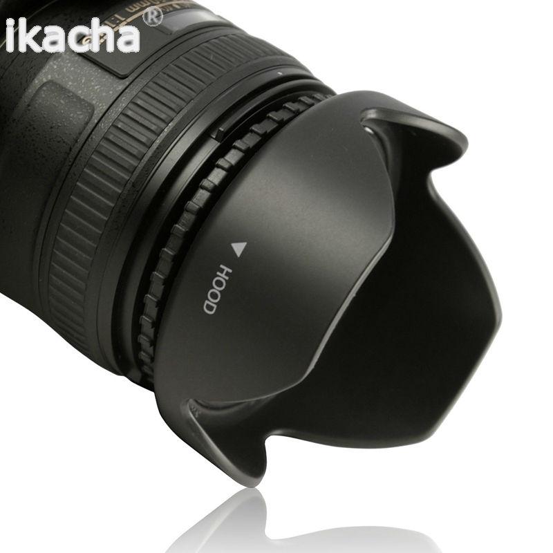 Easy Hood 72mm Lens Hood 72mm Universal Snap-on Reversible Lens Hood for Canon Nikon Sony Fuji Olympus Pentax 18-135mm EF-S Lens