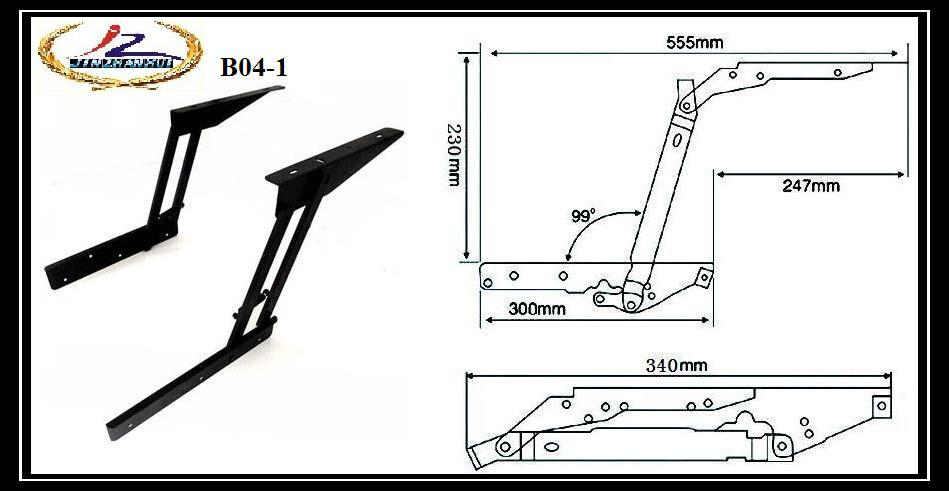 table parts with pop-up function ,laptop table parts ,convertible coffee table mechanism (B04-1)(China (Mainland))