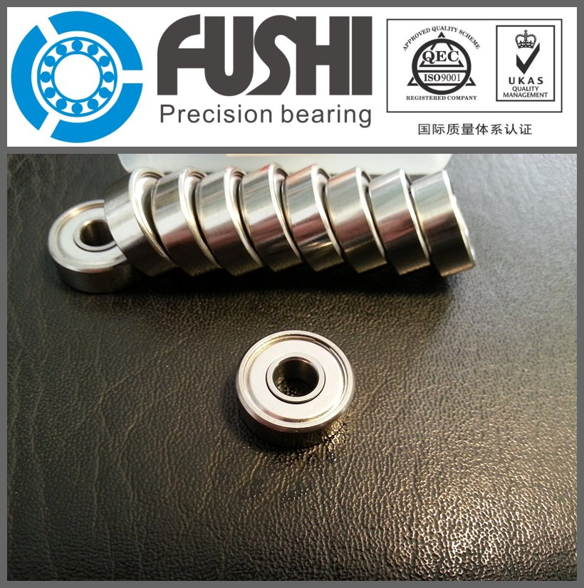 S605ZZ ABEC-1 (10PCS) 5x14x5mm Stainless Steel Bearing 605ZZ/SS(China (Mainland))