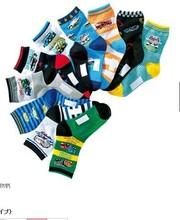 NEW man car socks  Children socks,  Cotton socks cartoon car boy socks two size 10 colors /lot(China (Mainland))