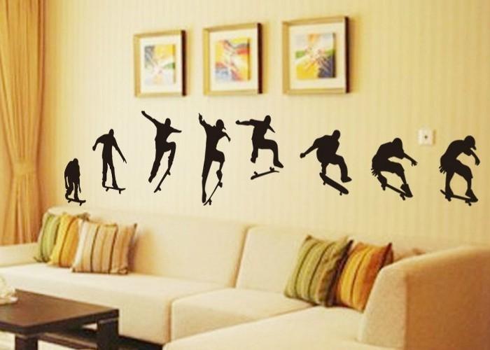 Modern Elegant Wall Decor : Home garden decor wall sticker art of living