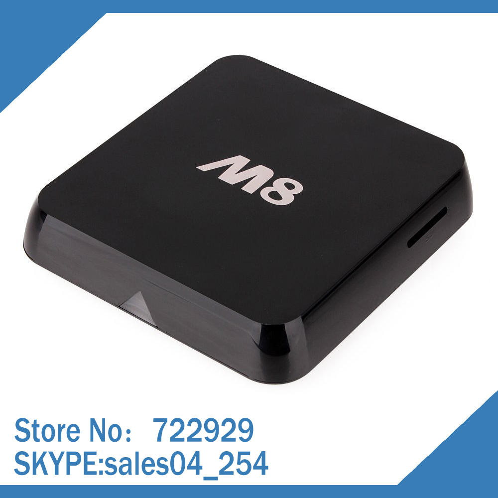 STB-set top box of android IPTV BOX Vensmile M8 Android 4.4 smart TV player Amlogic S802 2G/8G 1080P 4K WiFi movie Receiver(China (Mainland))