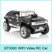 Drive  1:12 Remote Control Toys Hummer Car with Camera Controlled By iPhone Android WIFI Real Time Streaming Video GT330C HOT(China (Mainland))