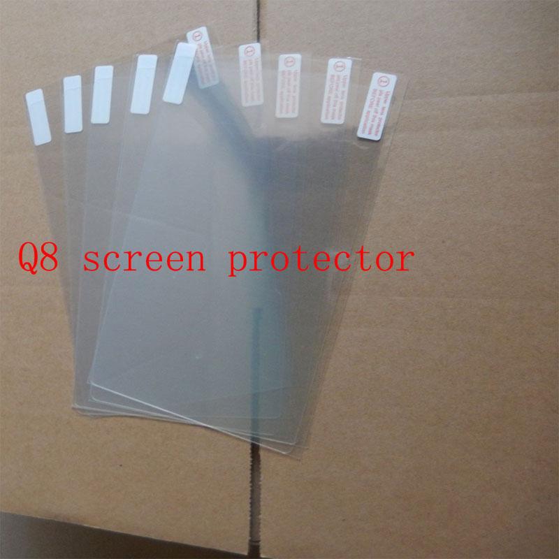 7 дюймов Таблетки Экрана Протектор Защитная Пленка для Q8 Tablet Аксессуары Оптовая 2016 Новое Прибытие Дешевые