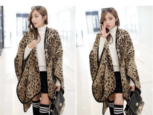 2015 high quality leopard printing shawls(China (Mainland))