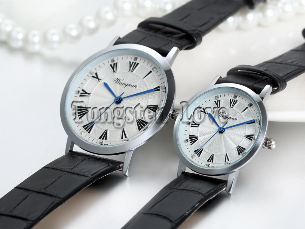 Hour Clock WristWatch Two Clock