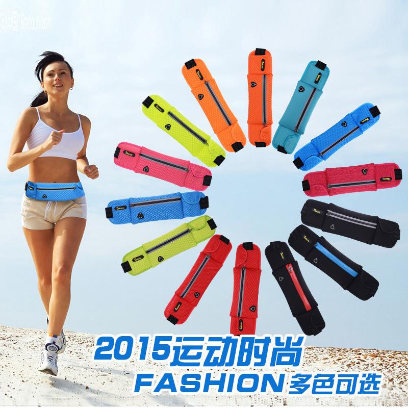 2015 Fashion Waist Bag Casual Waist Pack Outdoor Sport Bag Men Women Running Bags Purse Mobile Phone Case belt pochete<br><br>Aliexpress