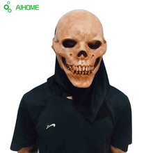 Orribile Mostro Del Cranio Adulto Maschere In Lattice Testa Completa Masquerade Fancy Dress Costume Cosplay Del Partito Spaventoso Maschera Per Halloween(China (Mainland))