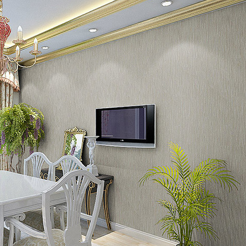 Plain simple bar embossed wallpaper wall to wall wallpaper Plain white wallpaper for walls