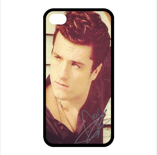 Popular Hot Film The Hunger Games Peeta Josh Hutcherson Printed Durable TPU Cover Case for Iphone 4 4s IPC-01(China (Mainland))