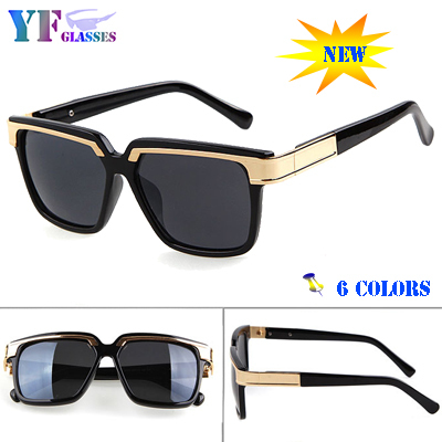 2015 Vogue Hipster Square Points Sunglasses Men High Fashion Brand Outdoors Camouflage Large Desinger Unisex Sunglass Dita 961(China (Mainland))