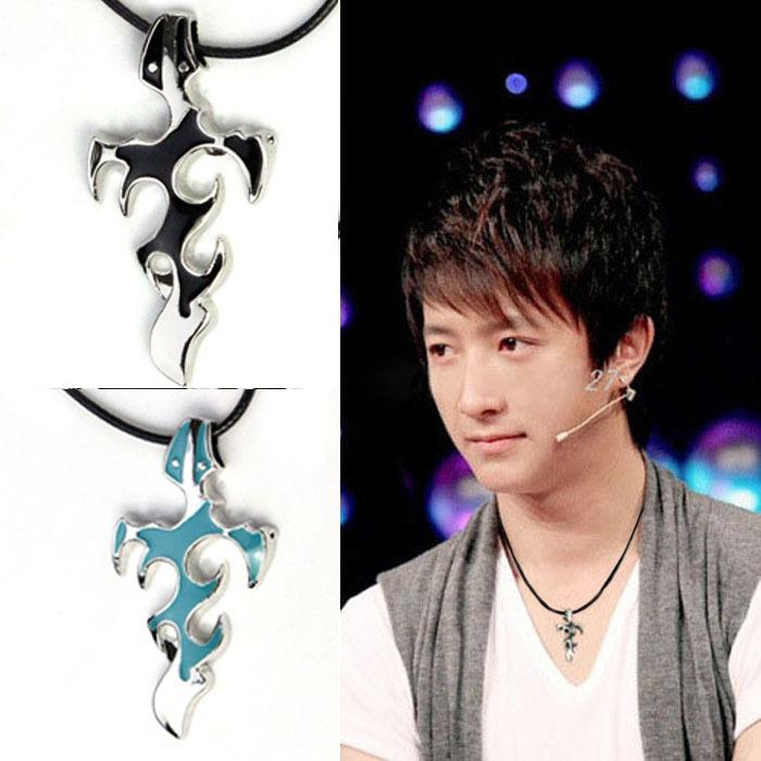 2016 1PCS Personality Men Titanium Steel Necklace Dis-evil Sword Cross Pendant(China (Mainland))