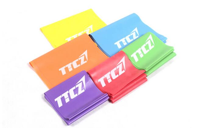 6Pcs/Lot Resistance Band 6 Levels Available Latex Gym Strength Training Rubber Bands Fitness CrossFit Equipment B55178192(China (Mainland))
