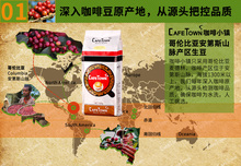 New 500g Excellent Colombia Coffee Beans Baking charcoal Medium Roast Original green food slimming coffee lose