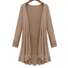 Women Fashion Candy Crochet Knit Top Thin Blouse Long Sleeve Summer Cardigan Sweater Coat Big Size Flounce E3119(China (Mainland))