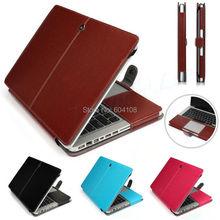 Pu кожаный чехол для ноутбука сумка чехол обложка для MacBook Air 11 13 Pro 13 15 сетчатки, бесплатная доставка