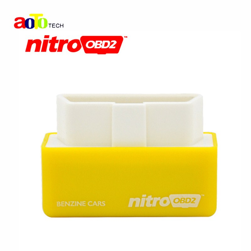Newest Plug&Drive NitroOBD2 Performance Chip Tuning Box for Benzine Cars NitroOBD2 Tool better then elm327(China (Mainland))