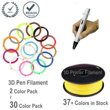 3D накаливания 20 цветов ABS нити для 3D пера и 3d-принтер — 400 линейный ноги — RoHS и достичь сертифицированный