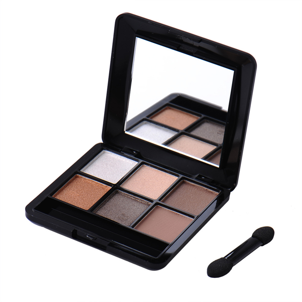 Bright 4 Colors And 6 Colors Eyeshadow Palette Makeup Matte Eye Shadow Palette Eyes 2016 New Make Up With Brush(China (Mainland))