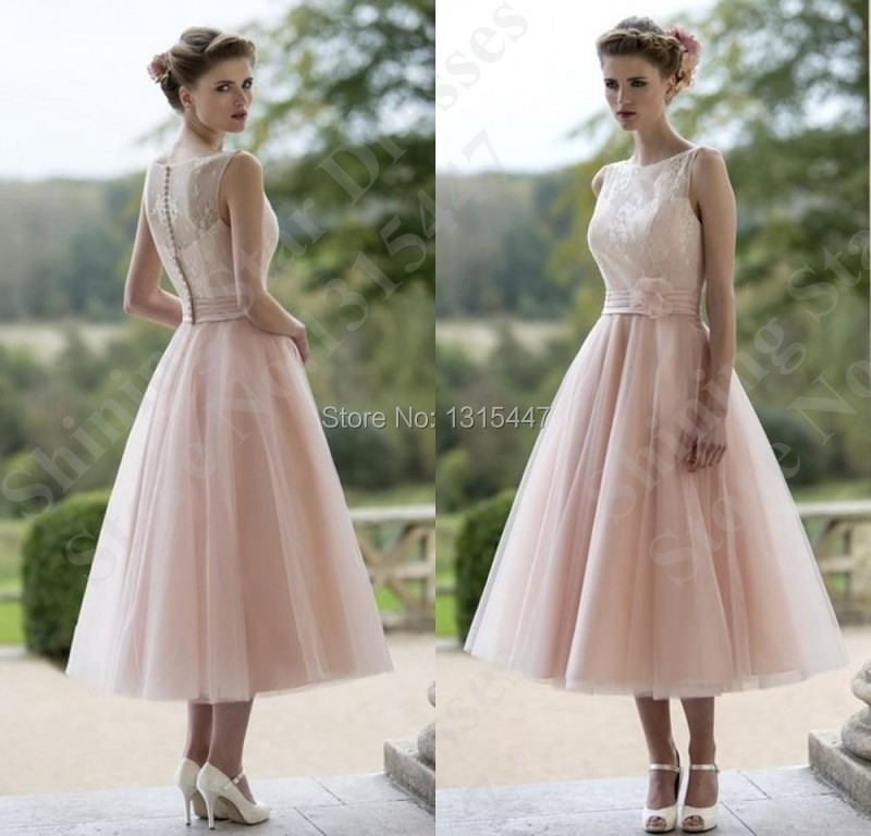 Popular Blush Pink Wedding Dresses Buy Cheap Blush Pink
