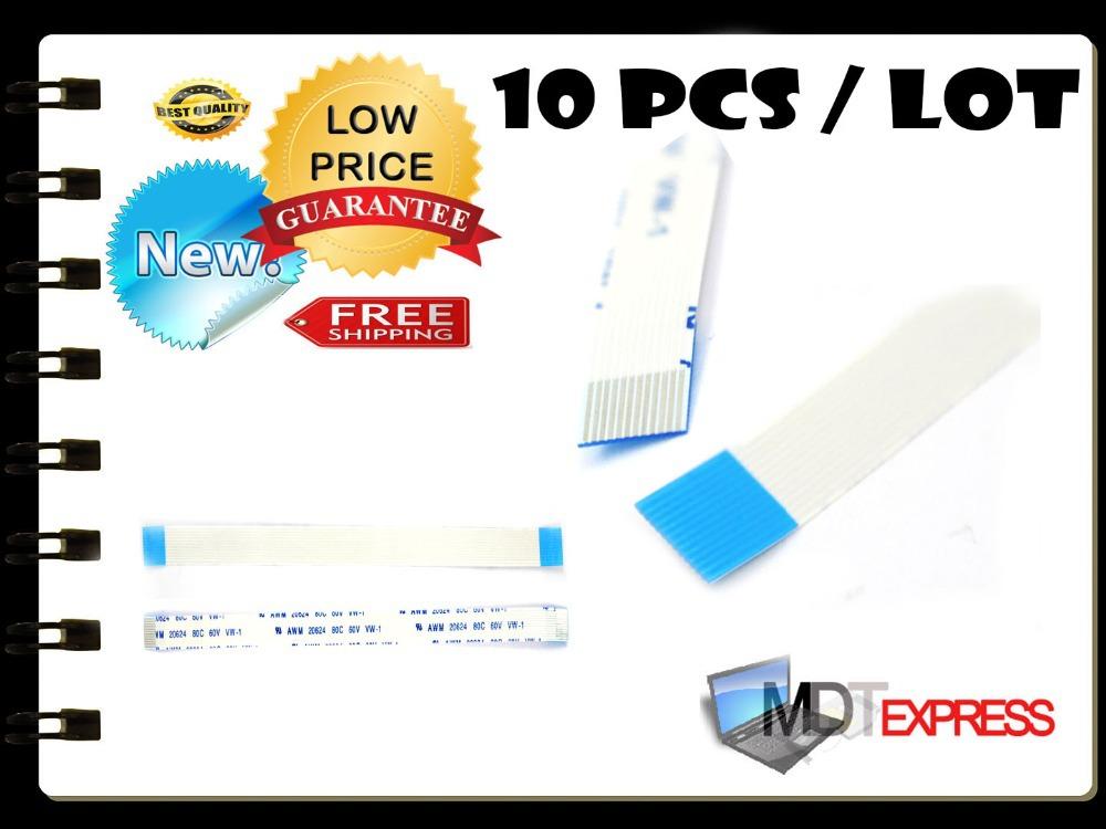 New! 10pcs/lot Flat Switch Ribbon Flex Cable Power Button 12pin for HP DV9000 CTO DV6000 Series E118077 AWM 2896 80C VW-1(China (Mainland))