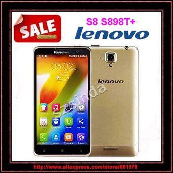 "Оригинал Lenovo S8 S898T мобильного телефона MTK6592 Octa ядро android-смартфонов 2 ГБ RAM 16 ГБ ROM 5.3 "" HD OGS экран 13.0MP камера"