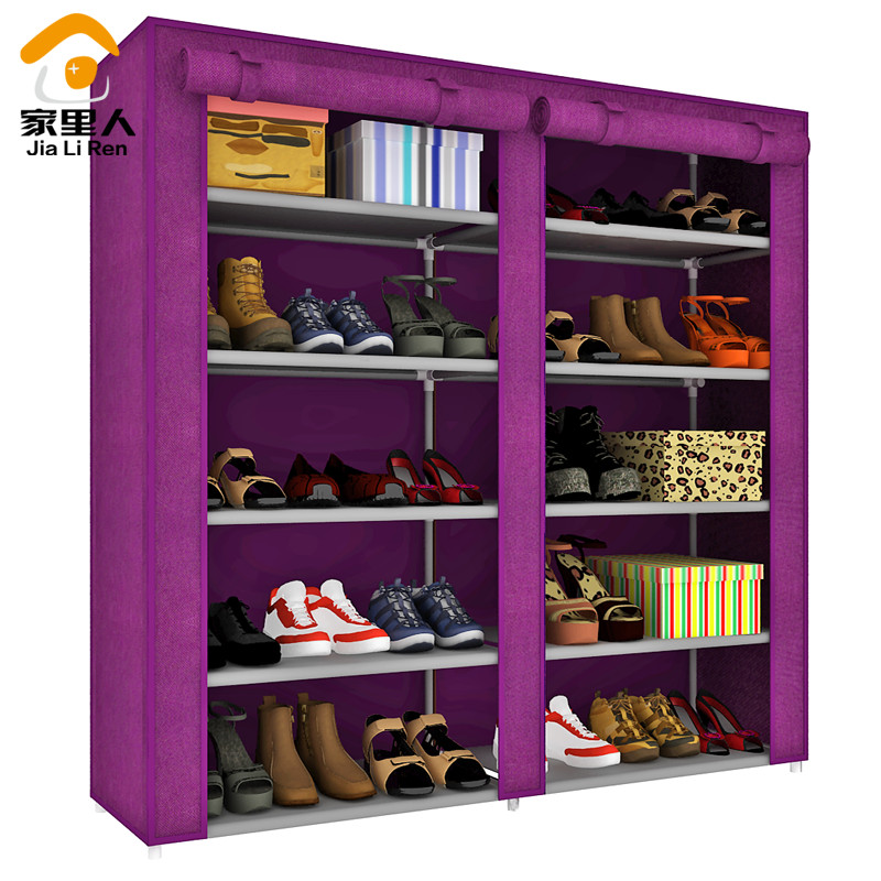 Free shipping! DIY Combination of shoe storage shoe cabinet, accommodate 30 pair of shoes(China (Mainland))
