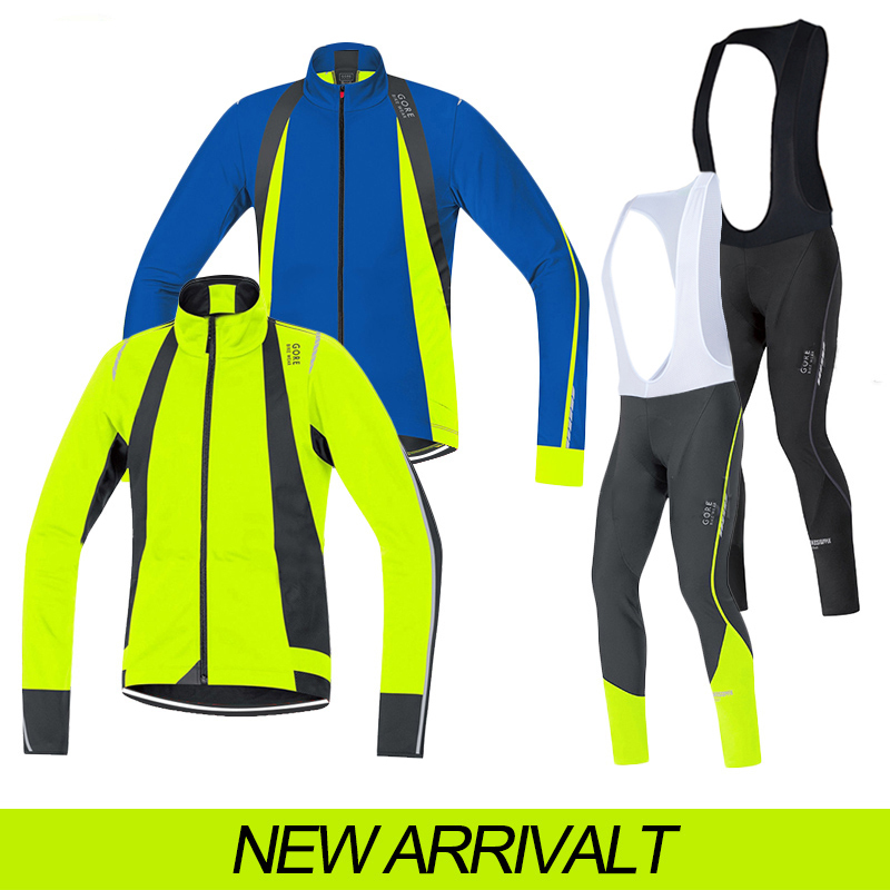 gores cycling long jersey autumn 2015 ciclismo bike ropa ciclismo /cycling clothing men fluo hot sale mtb bicicleta pro team(China (Mainland))