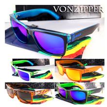 Hot New Women Men Sunglasses Fashion Trend Vintage Sport Outdoor Mirror Eyewear Goggles Von zipper Popular Handsome Sunglasses(China (Mainland))