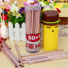 50pcs/set Natural Wooden HB Pencil Cheapest Practical Student Stationery  for School Office Supplies