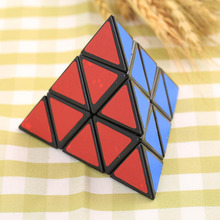 3X3X3 Pyramid triangle Shaped Third order Magic Cube Puzzle Twist funny hot Toy(China (Mainland))