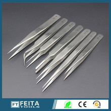 7pcs/set, high quality china hand tools, Antistatic ESD high precision eyelash extension Stainless steel tweezers Set fine Tips(China (Mainland))