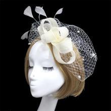 Bridal Birdcage Veil Hat