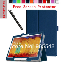 Buy Ultra Thin Folio Slim PU Leather Stand Case Book Cover Samsung Galaxy Note 10.1 2014 Edition Tablet P600 / P601/ P605, DB for $9.66 in AliExpress store