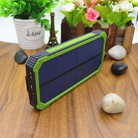 Buy two 10% off Solar power bank large capacity 50000mAh portable usb charger 18650 cell for iPhone Samsung banco(China (Mainland))