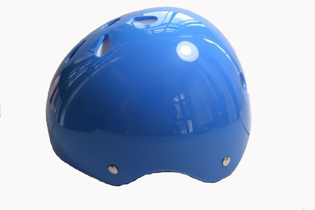 Free Shipping!! BMX Bike Scooter Roller Derby Inline Skate Skateboard Cycling Helmet Size M New,Color Blue(China (Mainland))