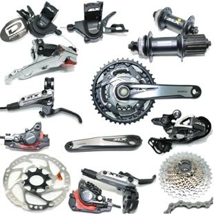 DEORE SLX M670 bicycle Variable speed suite 30 Speed bike groupset RT64 centel rotor hub BR-M675 disc brake deore/alivio/xt(China (Mainland))
