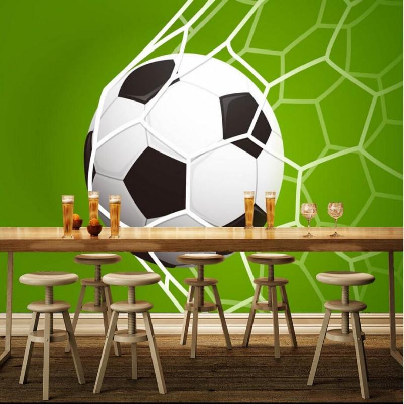 Online kopen wholesale voetbal thema kamer uit china voetbal thema kamer groothandel - Behang voor restaurant ...