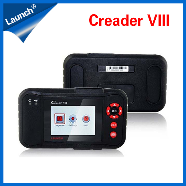 100% OrigInal Super Auto Scanner LAUNCH Creader VIII with Full Fuction by Launch Coder Reader(China (Mainland))