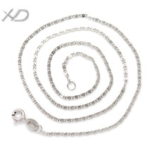 Buy XD 925 sterling silver special snake chain necklace 16inch 18 inch stock fashion ladies jewelry necklace Y907 for $9.20 in AliExpress store