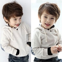 2016 Autumn and Winter Boys Girls Clothing Baby Child Clothing with Hood Fleece Sweatshirt Cheap Warm Comfortable Outerwear(China (Mainland))