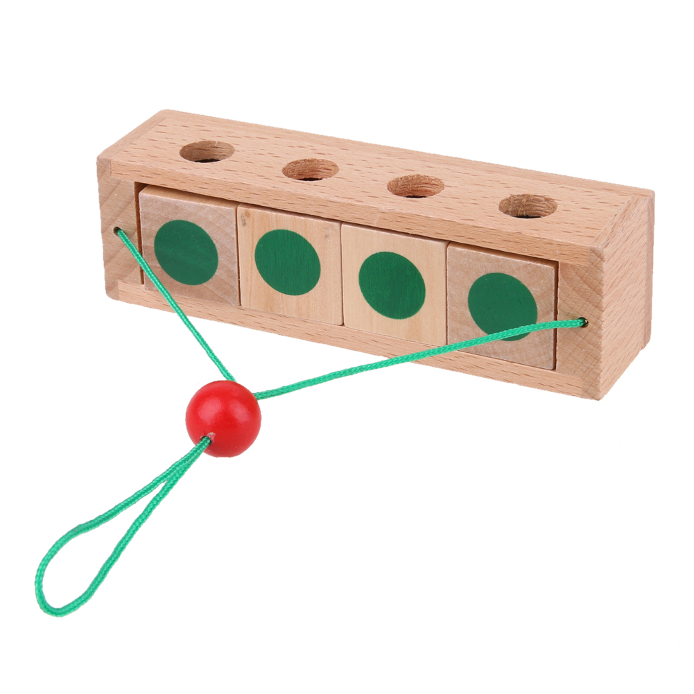 Wood Toys For Children Educational Montessori Brain Tease Toy Best268 Circuit Board Maintenance Clipon Magnifying Glass Alex Nld Intelligent Kong Ming Luban Lock Wooden Puzzle Us341