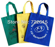 hot sale,non woven tote bags economical reusable bags custom shopping bags promotional advertisement bag(China (Mainland))
